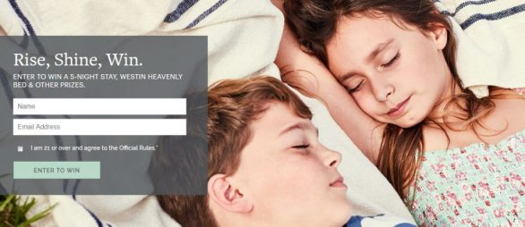 WestinStore Westin Sleep Sweepstakes