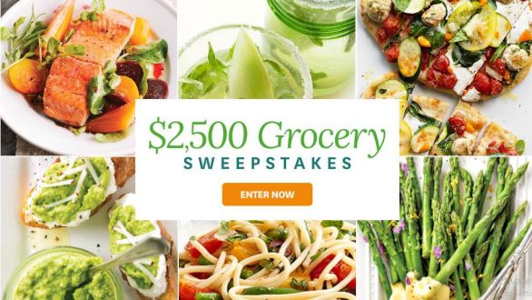 BHG $2,500 Spring Grocery Sweepstakes