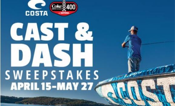 Costa Cast and Dash Sweepstakes