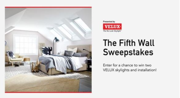 HGTV Magazine Fifth Wall Sweepstakes