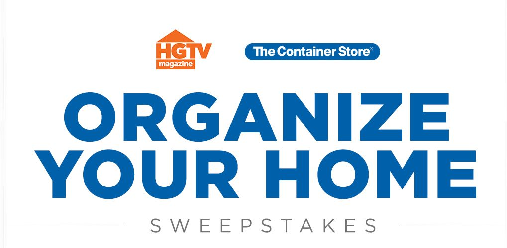 Sweepstake giveaway container store 2018