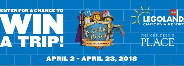 Legoland Castle Hotel Sweepstakes
