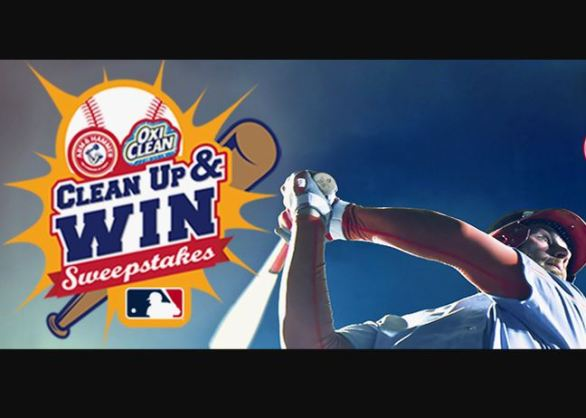 MLB-Clean-Up-and-Win-Sweepstakes