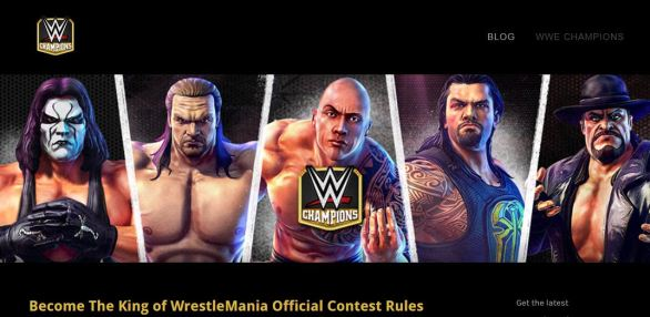 WWE Champions Real World Prize Contest