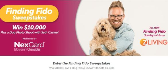 Z Living Finding Fido Sweepstakes