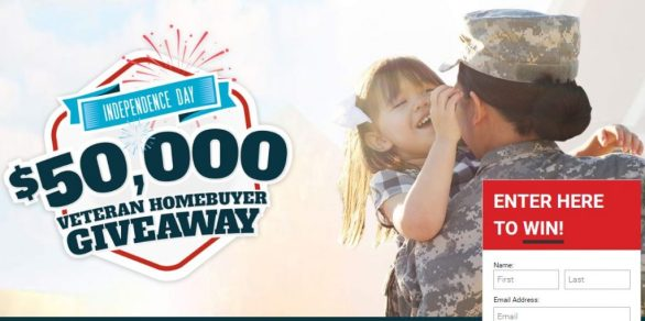 $50,000 Veteran Homebuyer Giveaway