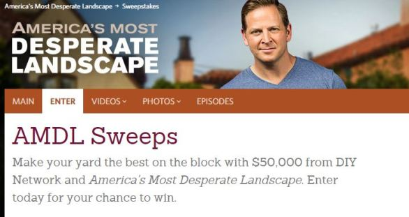 America's Most Desperate Landscape Sweepstakes - DIY Network America's Most Desperate Landscape Sweepstakes - Offers
