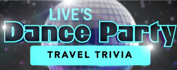Dance Party Travel Trivia Sweepstakes