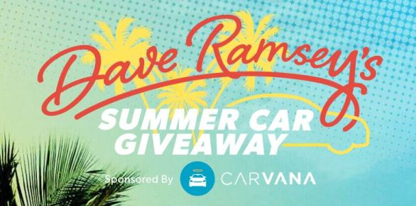 Dave Ramsey Car Giveaway