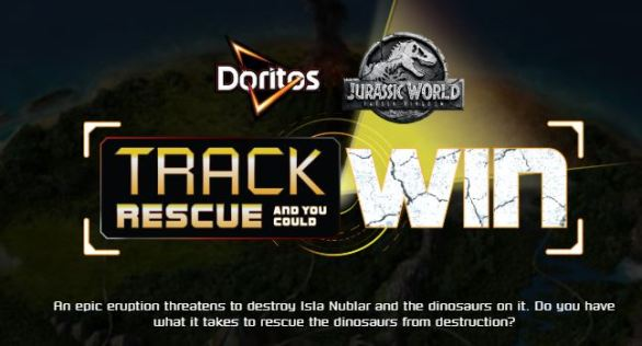 Doritos Track Rescue Win Sweepstakes