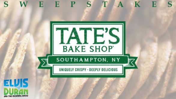Tate's Hamptons Getaway Sweepstakes