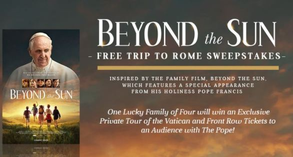 Free Trip To Rome Sweepstakes