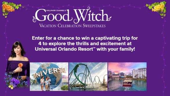 Good Witch Vacation Celebration Sweepstakes
