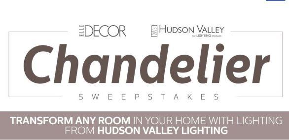 Hudson Valley Lighting Sweepstakes