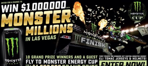 Monster Energy Monster Million Sweepstakes