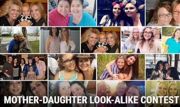 Mother Daughter Look Alike Contest