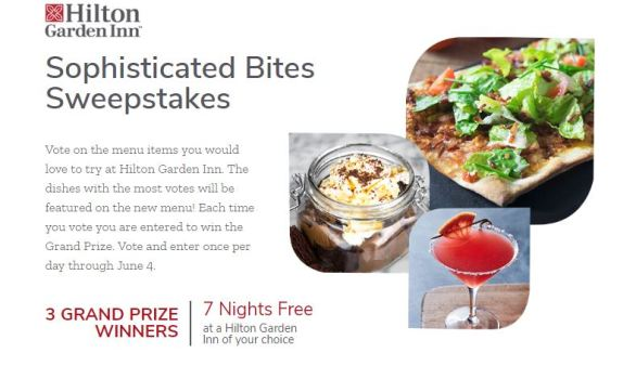 Sophisticated Bites Sweepstakes