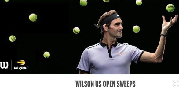 Wilson US Open Tennis Ball Sweepstakes