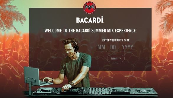 Bacardi Summer Mix Sweepstakes