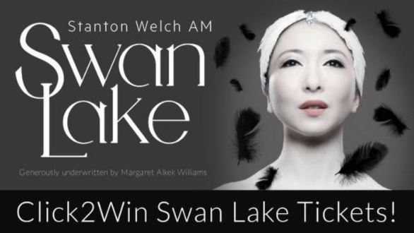 Click2Win Swan Lake Ticket Contest