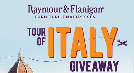 Flanigan's Tour of Italy Giveaway