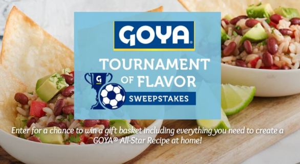GOYA Tournament of Flavor Sweepstakes
