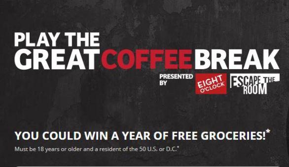 Great Coffee Break Sweepstakes