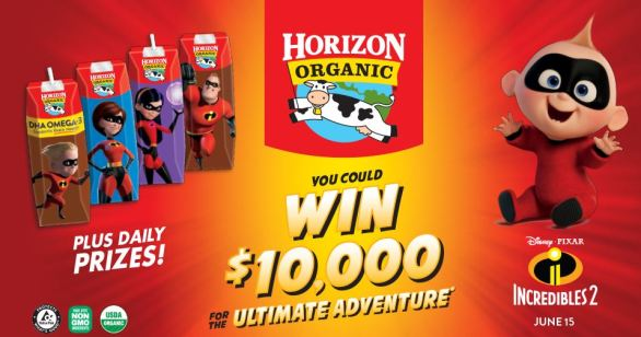$10,000 Ultimate Adventure Sweepstakes