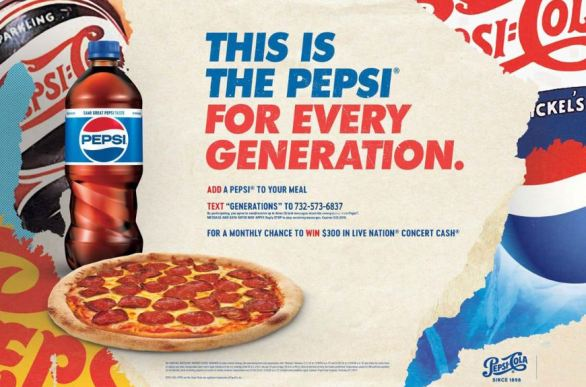 Pepsi Brand Integration Sweepstakes