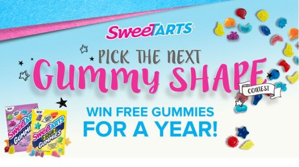 SweeTARTS Candy Next Gummy Shape Contest