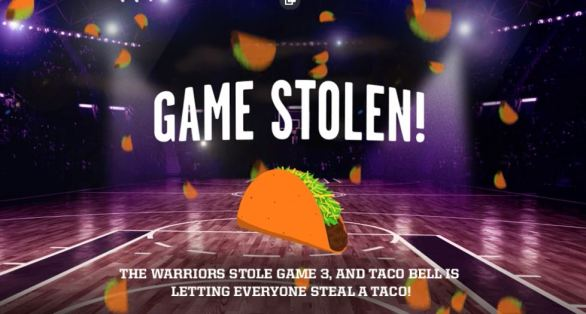 Taco Bell Steal A Taco