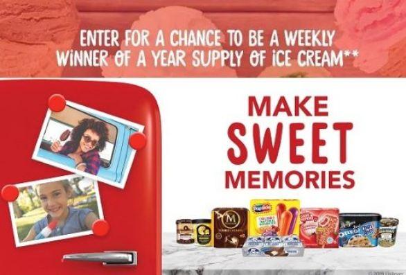 Unilever-Ice-Cream-Sweepstakes