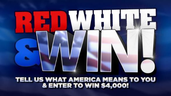 WGRR Red White and Win Giveaway