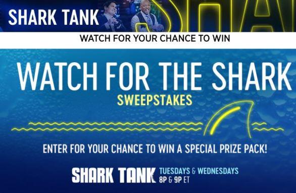 CNBC Shark Tank Sweepstakes Code Words