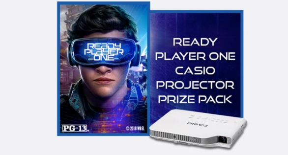Casio Projector Ready Player One Sweepstakes