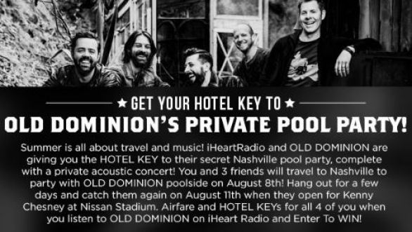 Dominion Private Pool Party Sweepstakes