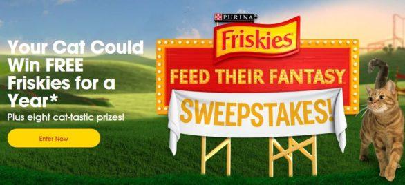 Friskies Feed Their Fantasy Sweepstakes