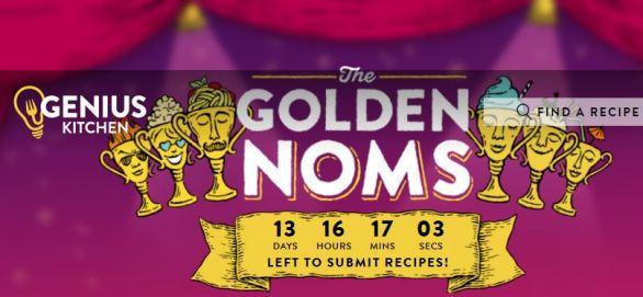 Genius Kitchen Golden Noms Recipe Contest