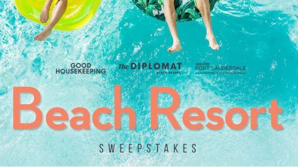 Good Housekeeping Diplomat Beach Resort Sweepstakes