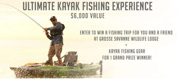 Kayak Fishing Experience Sweepstakes