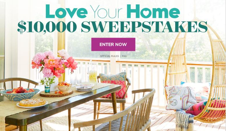 Better homes and gardens sweepstakes 2018 to enter