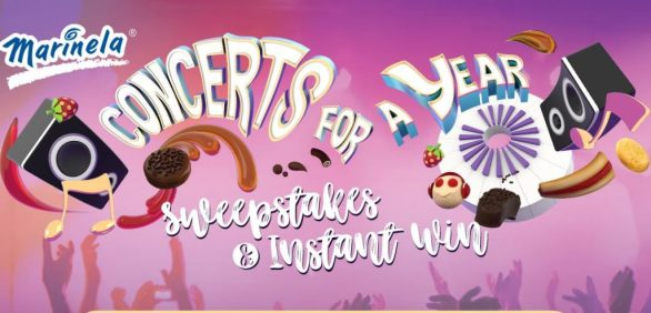 Marinela Concerts for a Year Sweepstakes