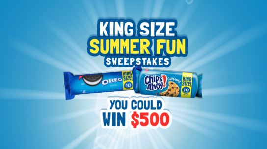 My King Size Summer Fun Sweepstakes