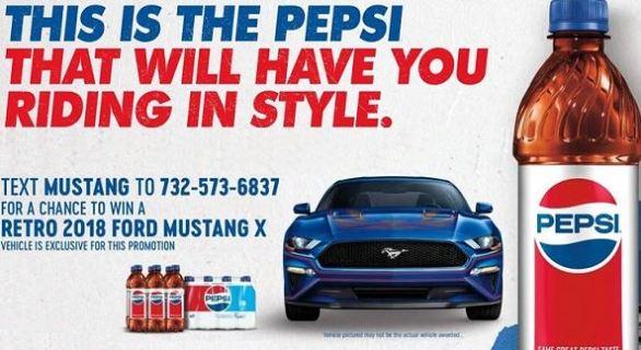 Pepsi Mustang Sweepstakes