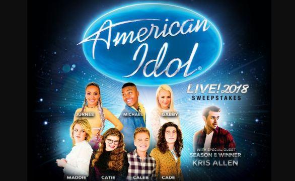 Radio Disney American Idol Live Sweepstakes