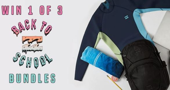 Billabong Back 2 School Sweepstakes