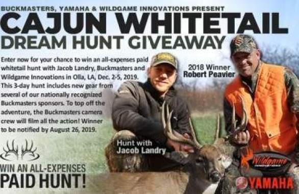 Buckmasters-Cajun-Whitetail-Dream-Hunt-Giveaway