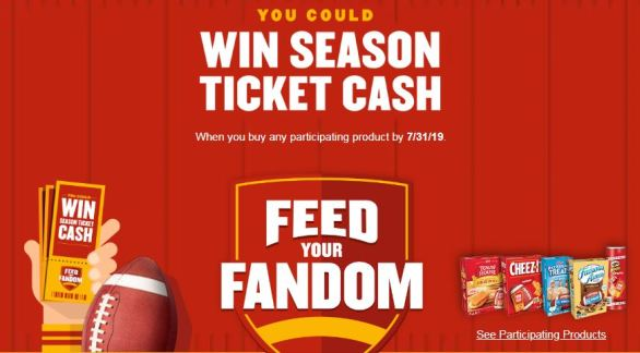 KFR Feed Your Fandom Sweepstakes