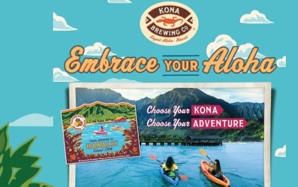 Kona Embrace Your Aloha Sweepstakes