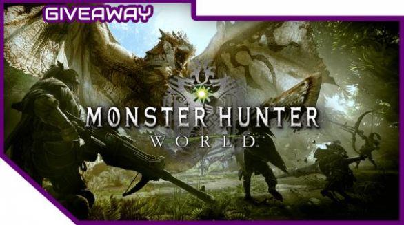 Monster Hunter World Giveaway
